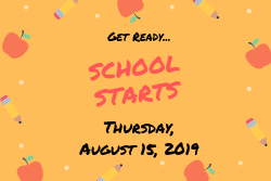 Get Ready, First Day of School is Coming Soon!