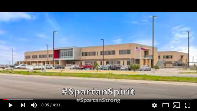 Youtube video that say #SpartanSpirit #SpartanStrong