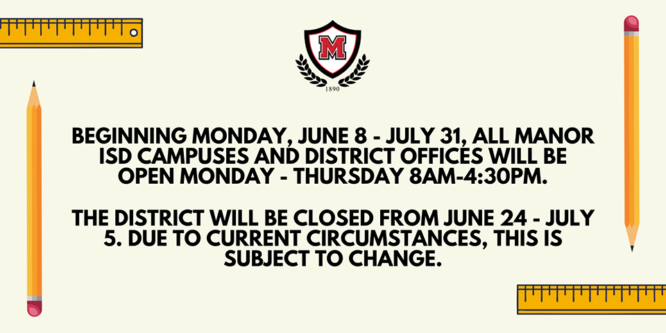 MISD Summer Hours