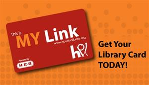 Picture of Houston Library Card