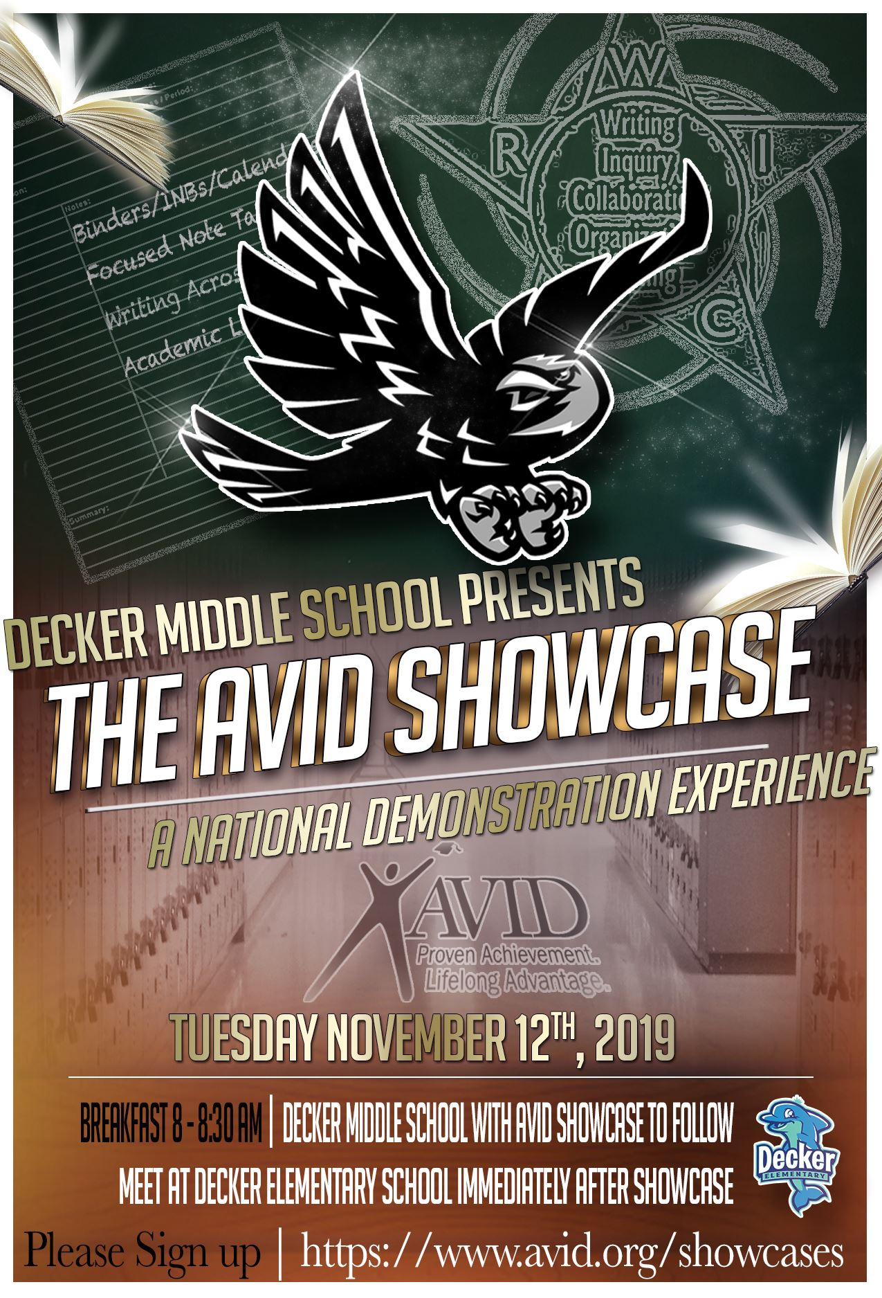 Decker Middle School presents AVID Showcase