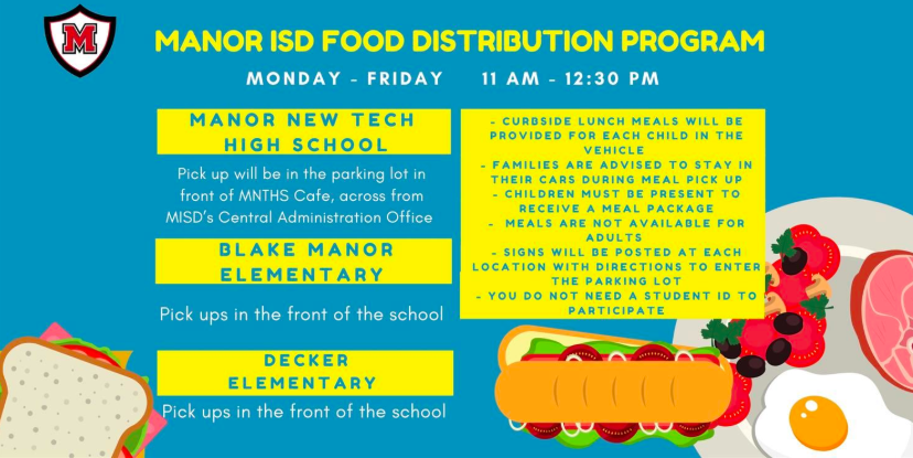 misd food distribution schedule
