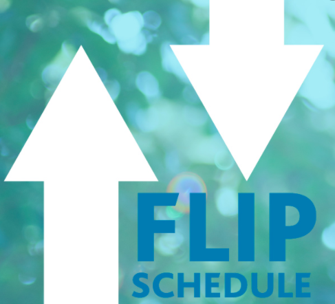 arrows, flip schedule