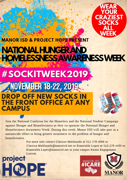 national homelessness awareness week flyer