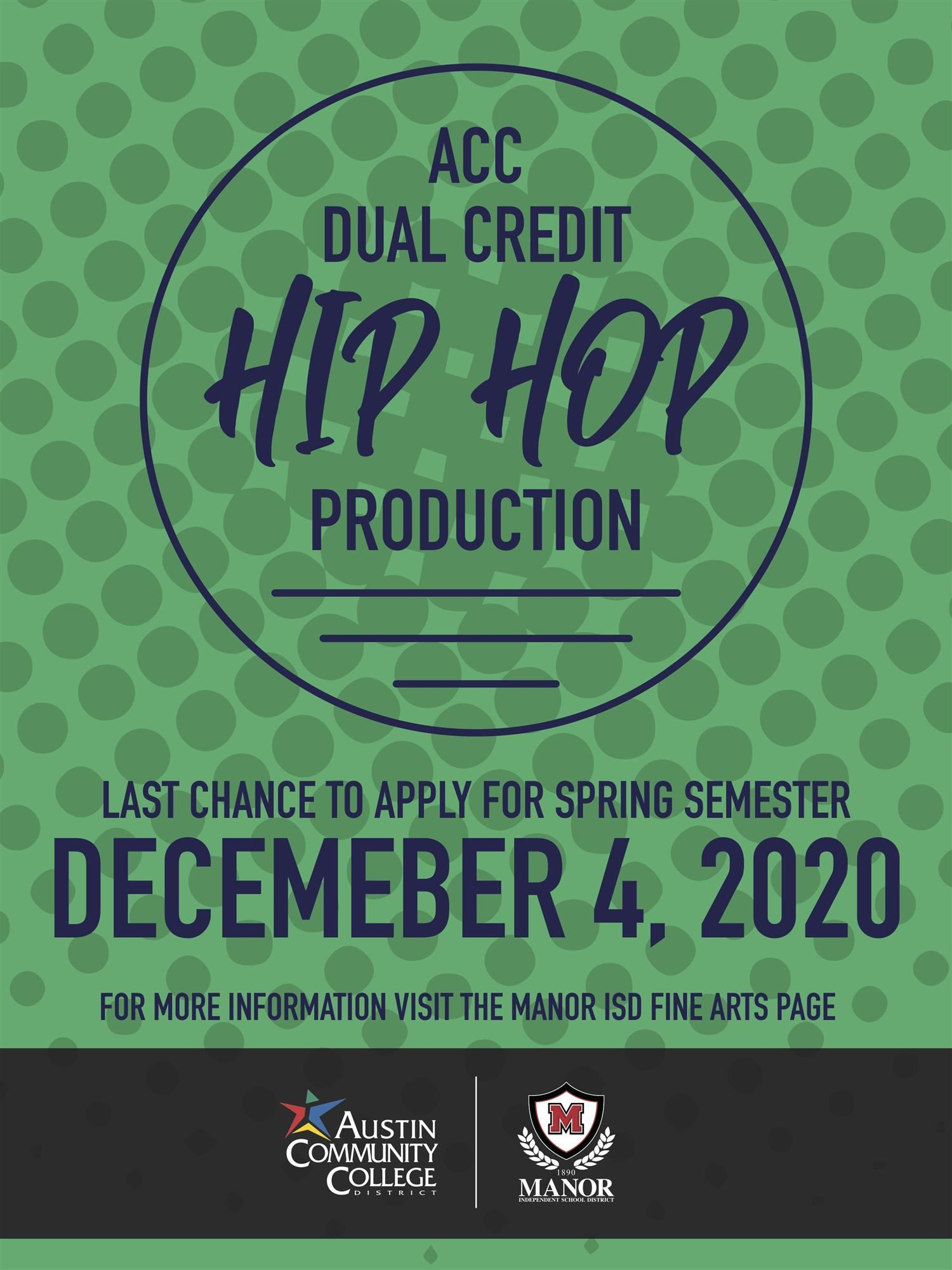 ACC Hip Hop Production