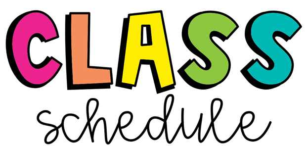 Class Schedules Changes