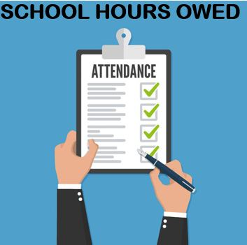 STUDENTS DO YOU OWE HOURS?