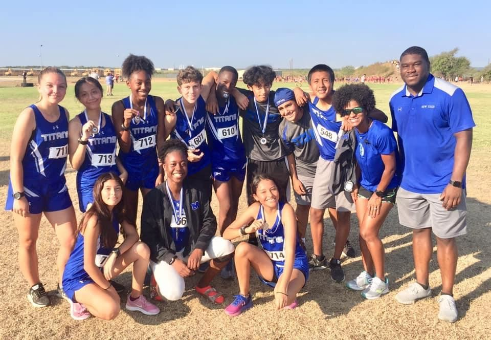 Manor New Tech Cross Country Teams
