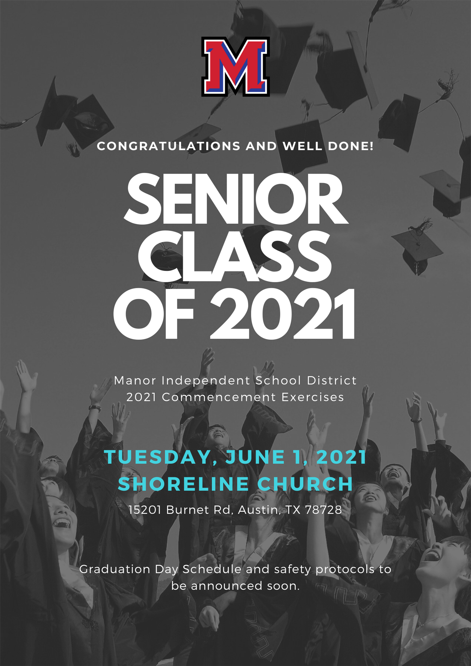 Class of 2021: Graduation Announcement