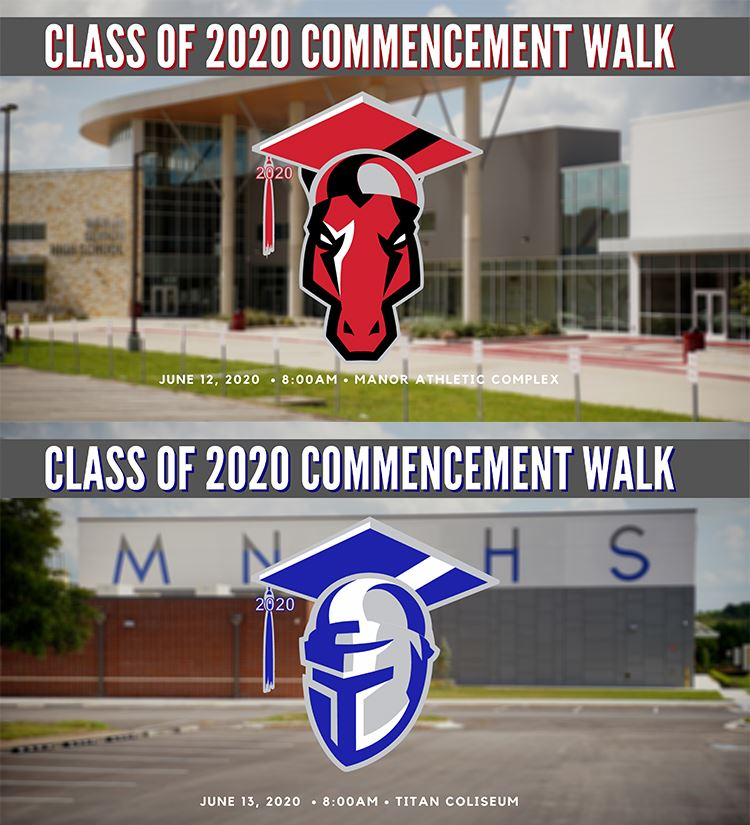 2020 Manor ISD Modified In-Person Graduations