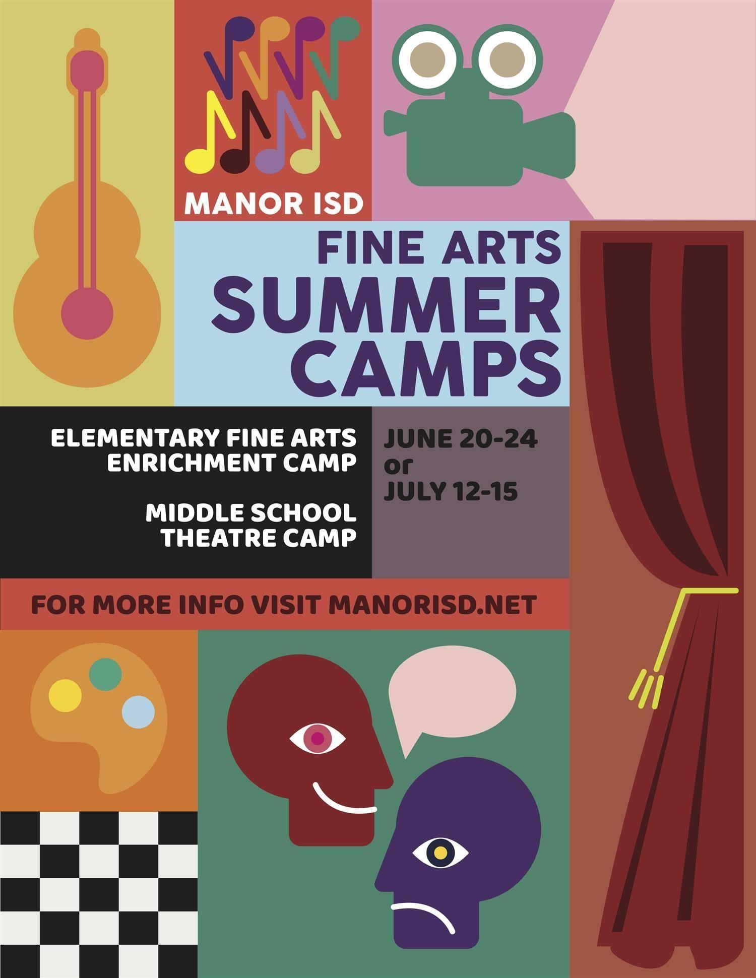 misd fine arts summer camps