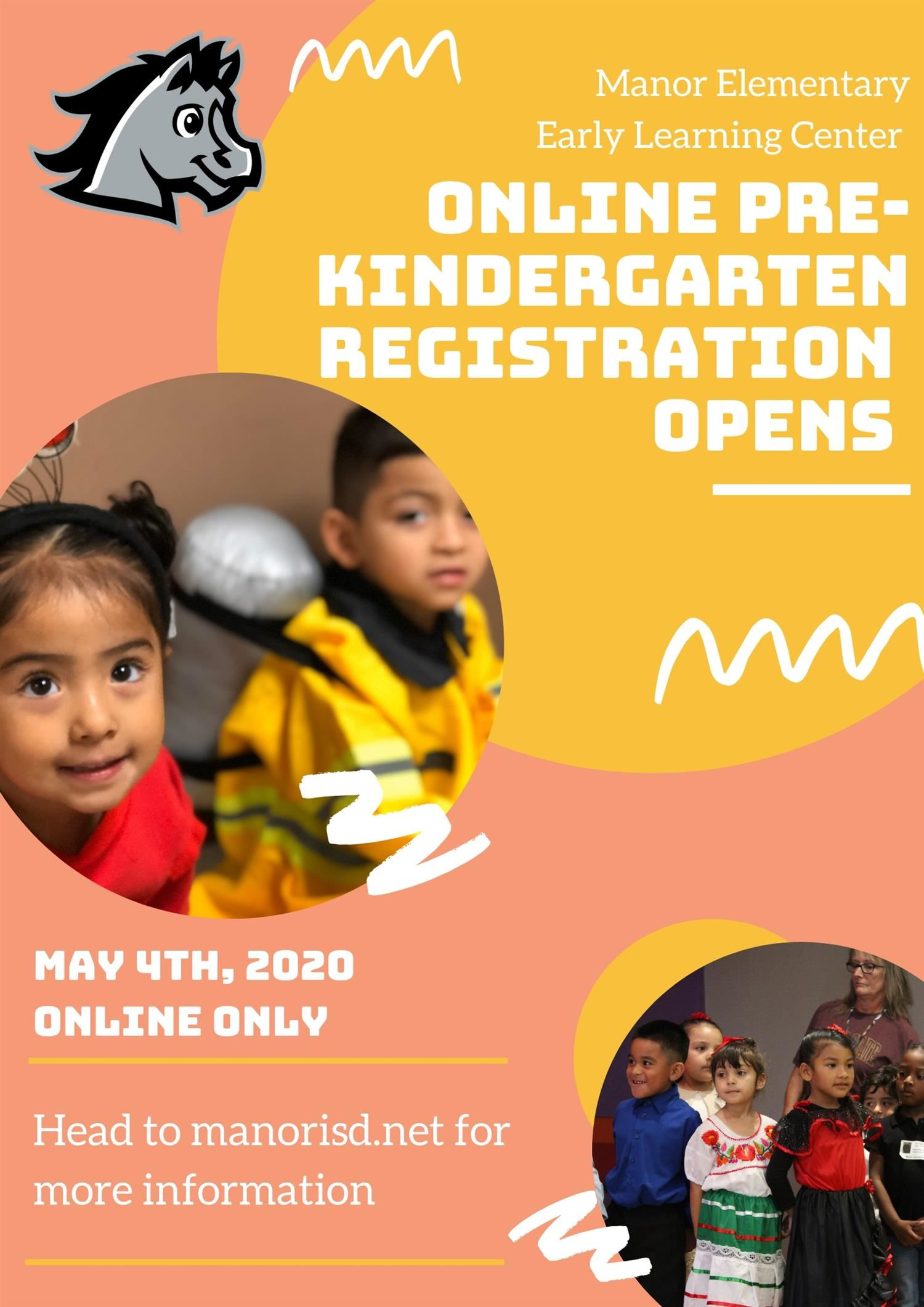REMINDER: Pre-K Registration Open Online!