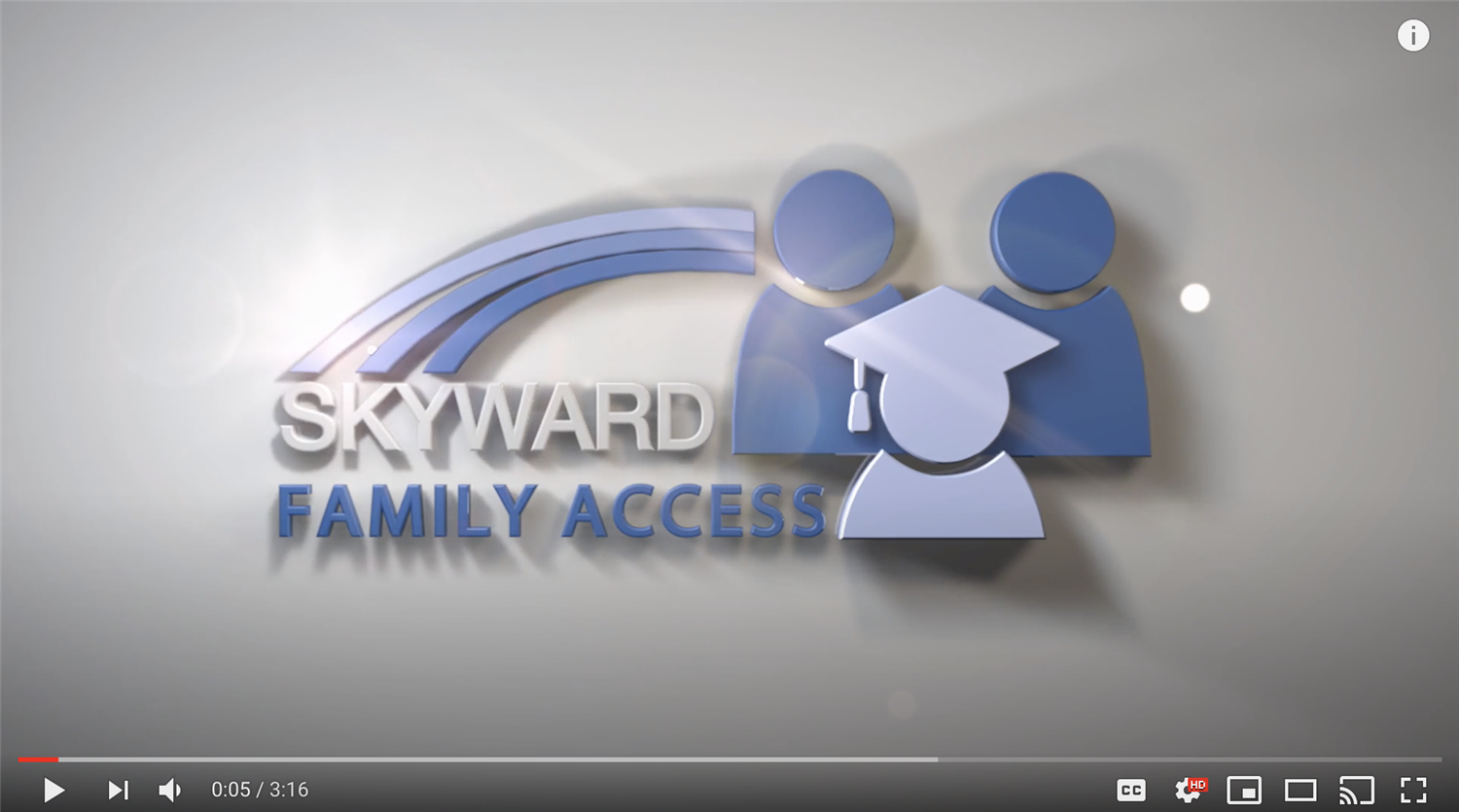 Academic History, Gradebook and Schedules Available in Skyward Family Access
