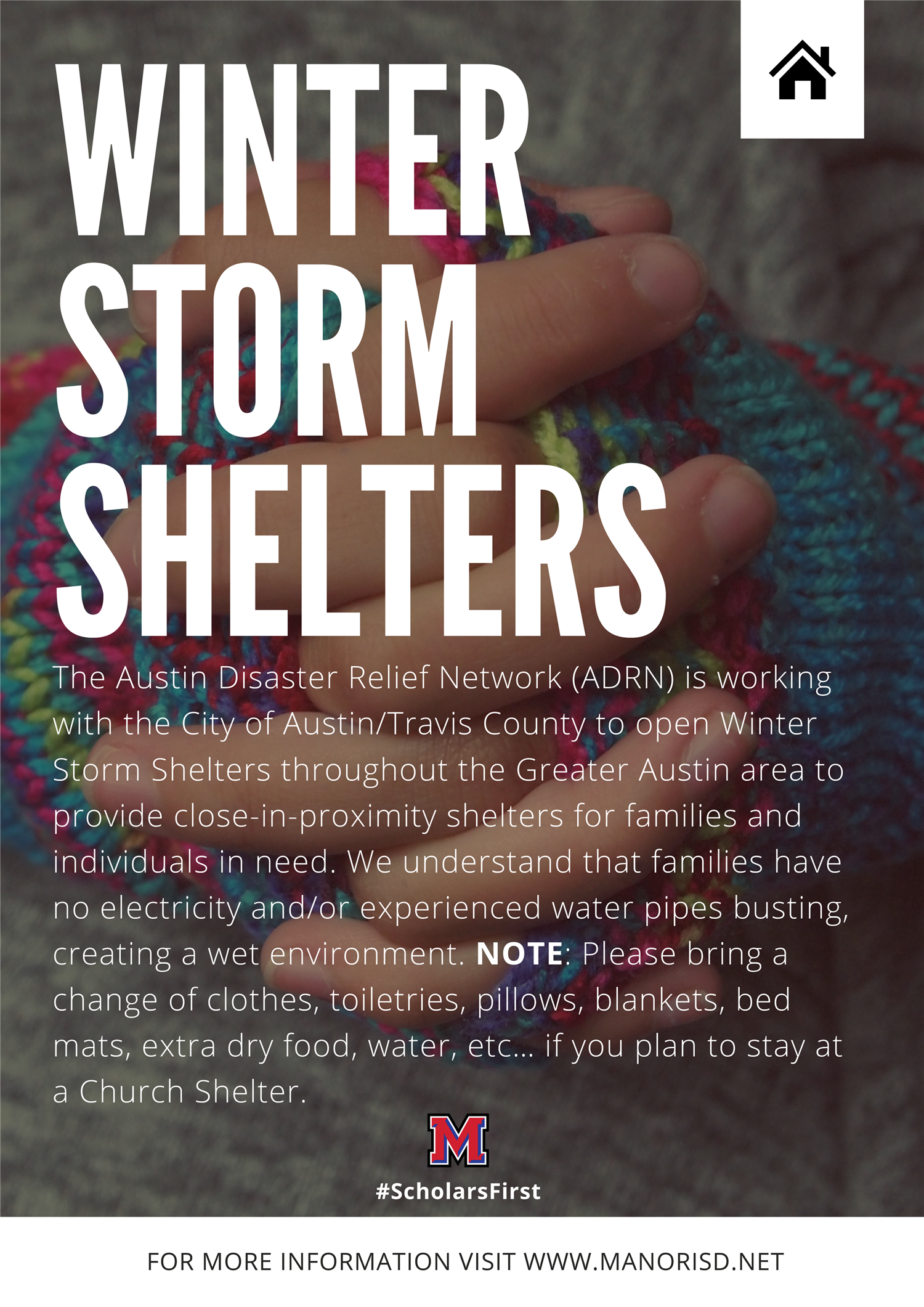 Austin Area Winter Storm Shelters