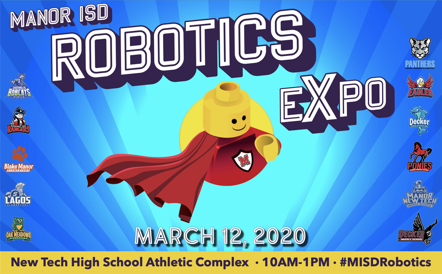 11th annual Manor ISD Elementary Robotics Expo!