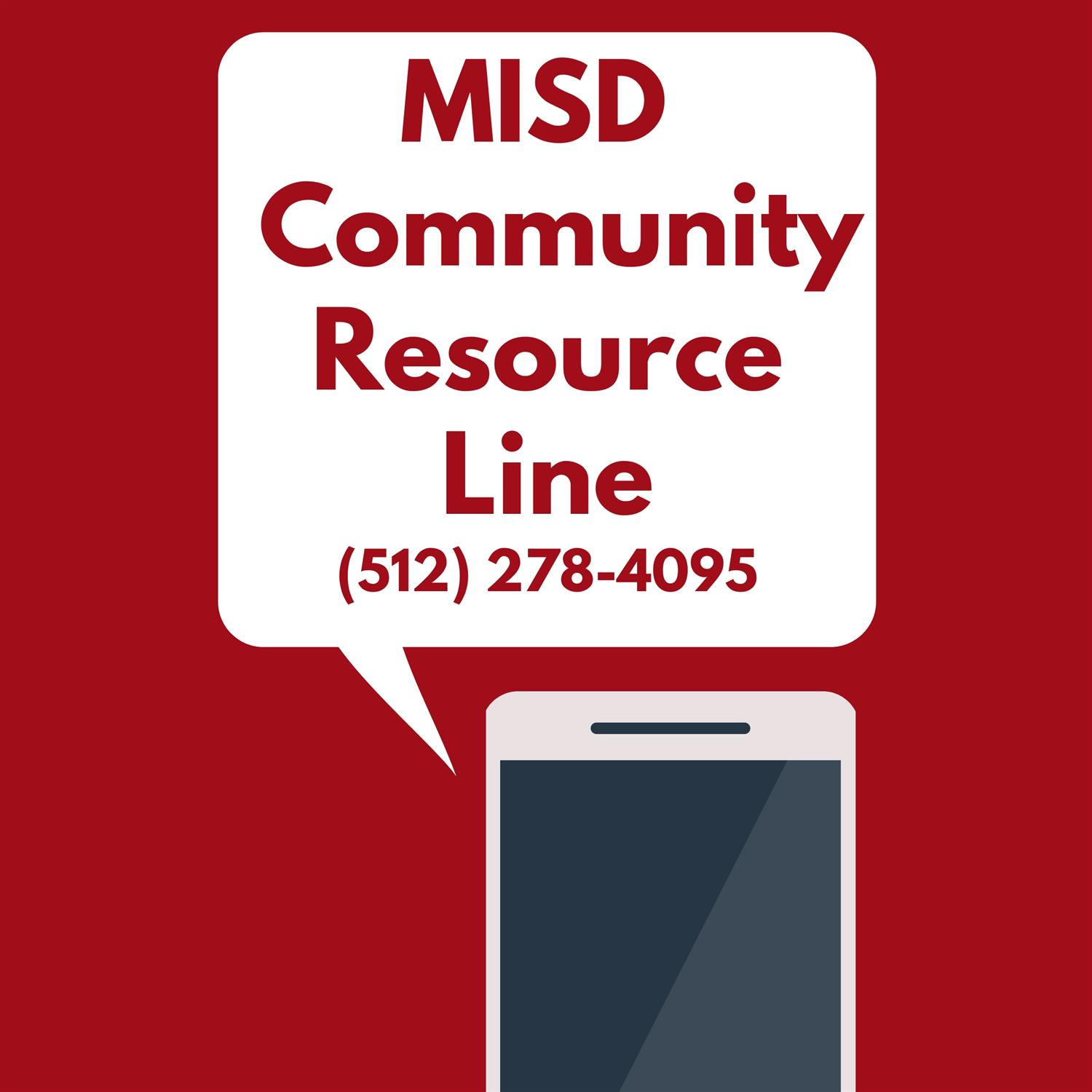 MISD  Community Resource Line