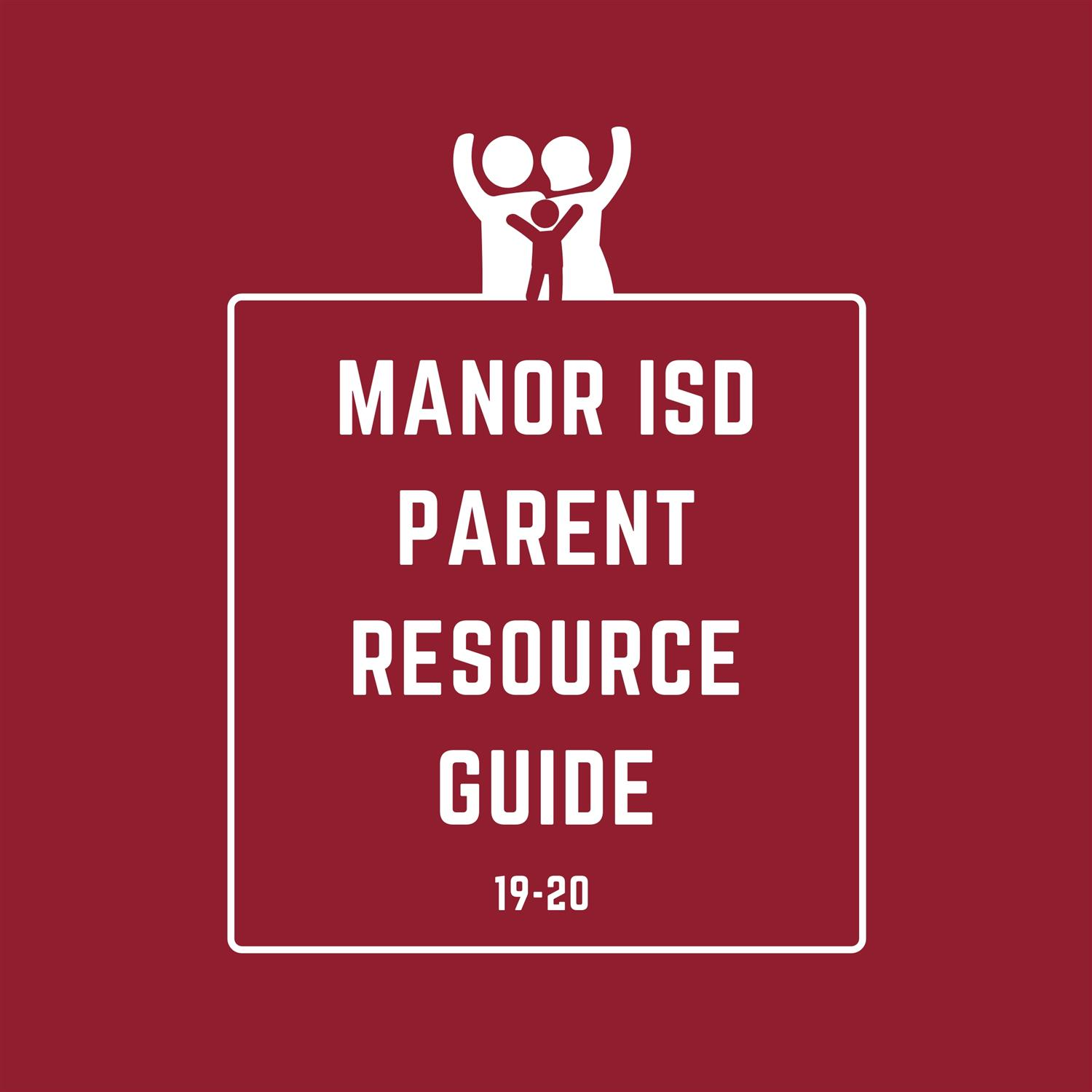 Manor ISD Parent Resource Guide 19-20