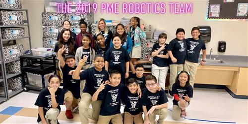 2018-2019 Robotics Team