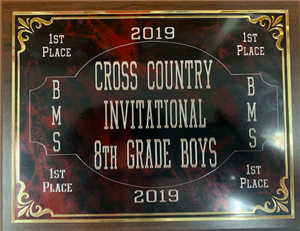 Cross country award